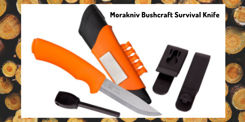 Morakniv Bushcraft Survival Knife