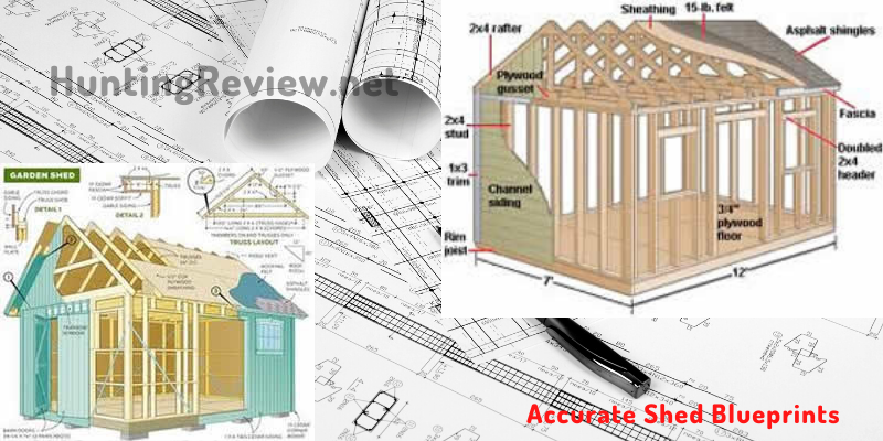 accurate easy to follow shed blueprints