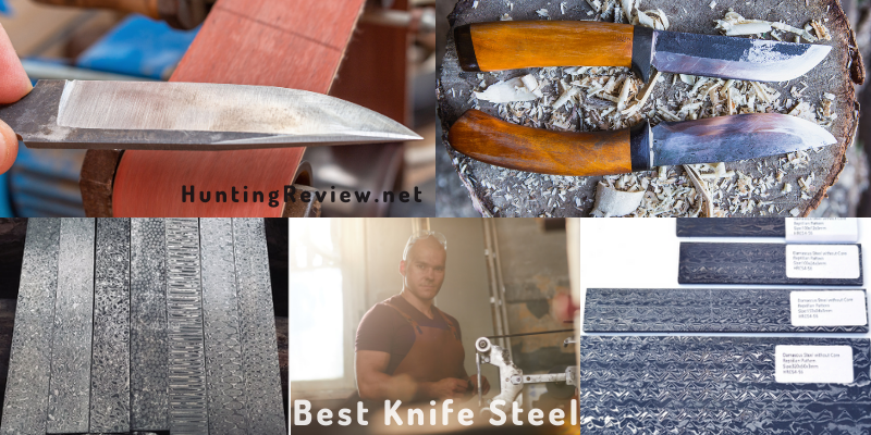 best knife steel for hunting